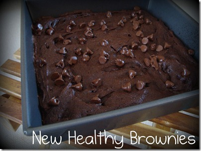 new healthy brownies