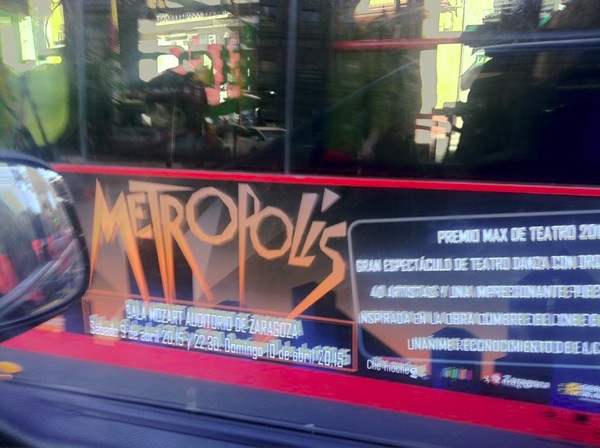 Metropolis bus Zaragoza