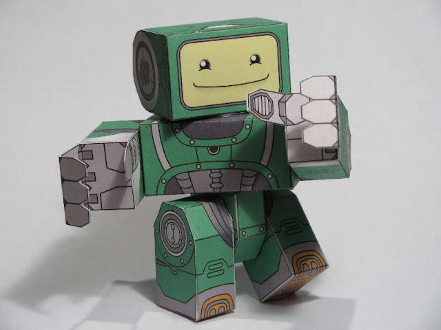 Как из бумаги сделать руку робота