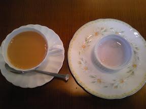 マユールの紅茶・デザート