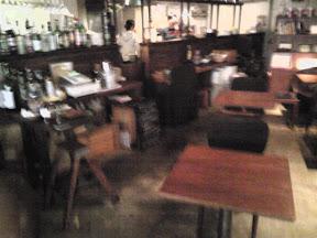 サンカフェの店内の様子