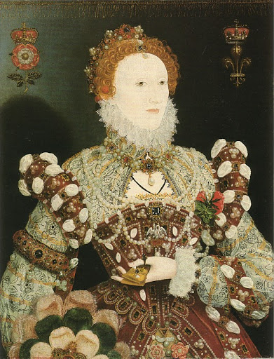 queen elizabeth first portraits. of Queen Elizabeth I, c.