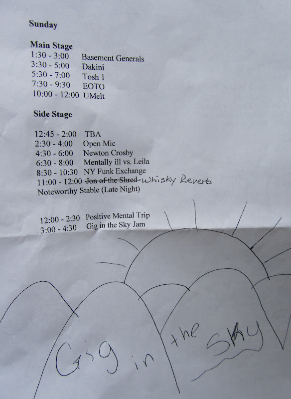 gig in the sky schedule