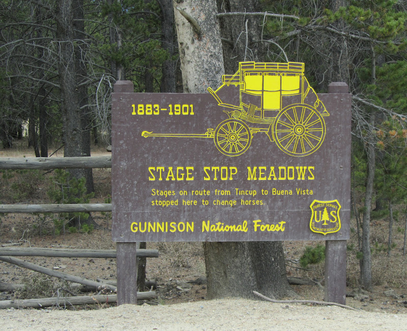 stage stop meadows on cottonwood pass
