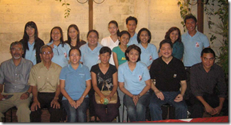 Dr. Aralar (seated, 3rd from left) with other resource persons and staff of DTI Region 12, one of the conference co-sponsors
