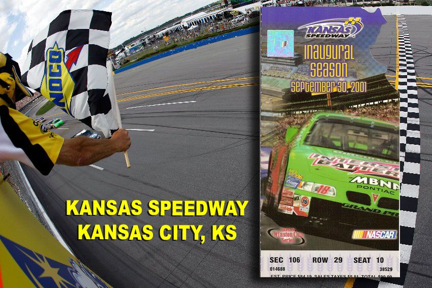 Hover motor company ticket stubs and the racetracks that for Kansas motor speedway tickets
