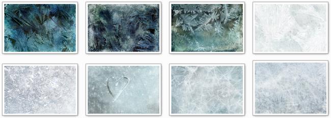 текстуры лед мороз