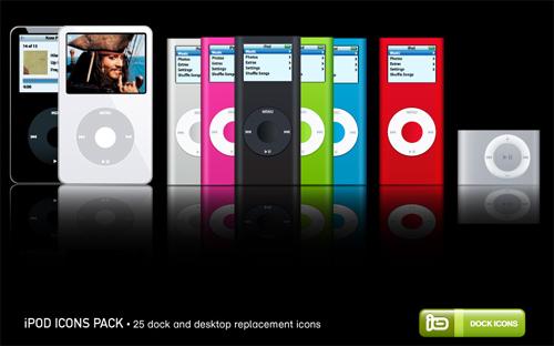 иконки ipod