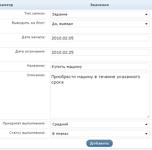 список дел wordpress