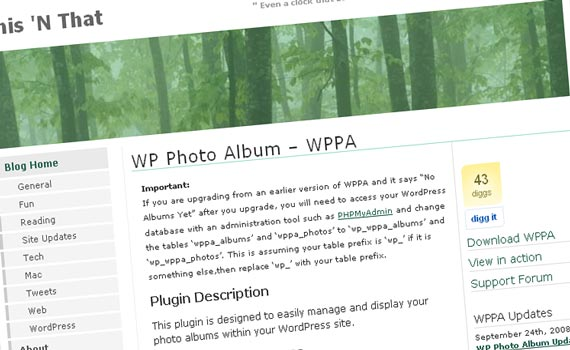 WP Photo Album