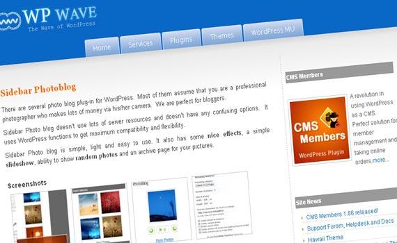 Sidebar Photoblog