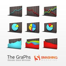 иконки диаграммы графики