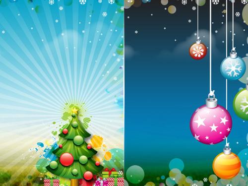 обои на рабочий стол новый год рождество