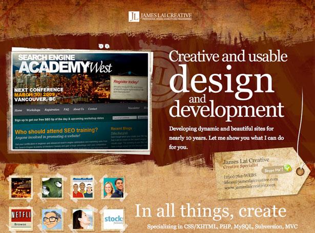 Дизайны сайтов для вдохновения дизайнера