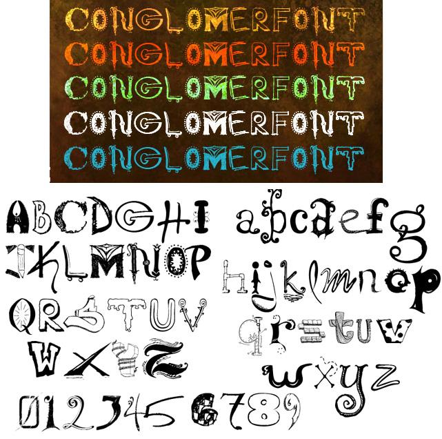нестандартные шрифты