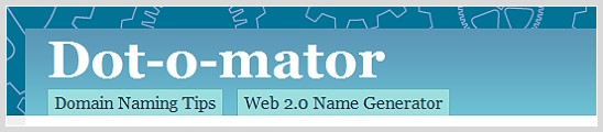 генератор имен для доменов