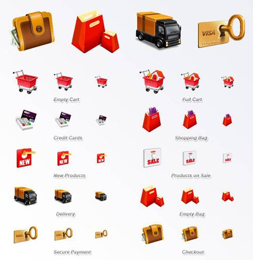 электронная коммерция иконки