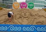 Busan Haeundae Sand Festival 02