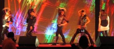 K Pop dancers