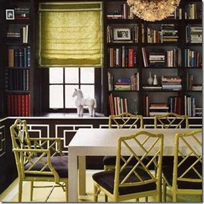 jonathan_adler painted bamboo cane chairs via cabrerra got style