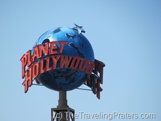 Planet Hollywood in Downtown Disney