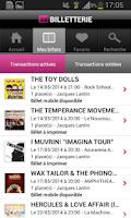 Screenshot of Digitick