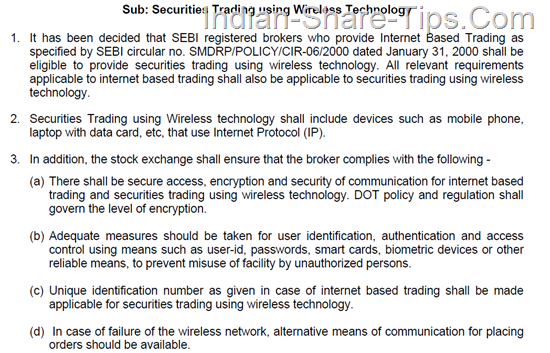 Mobile trading software in india