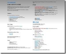 LOIC setup guide