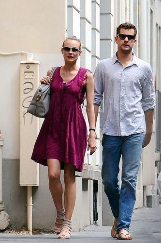 Diane Kruger Joshua Jackson pics