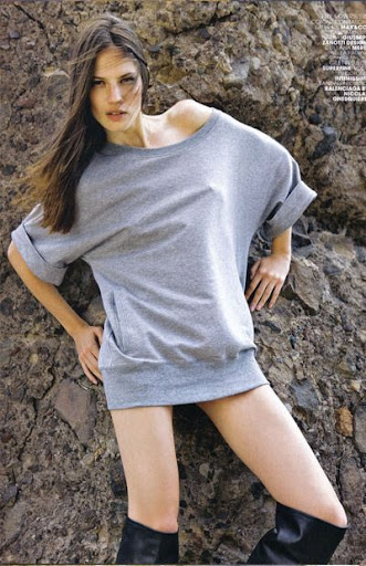 Italian model Danijela Dimitrovska