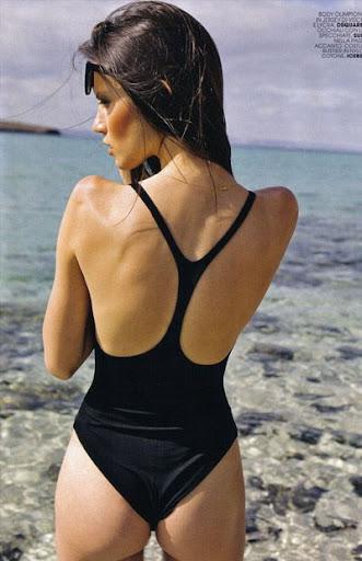 glamour model Danijela Dimitrovska