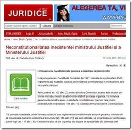 Neconstitutionalitate MJ