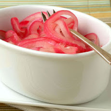 Sweet-and-Sour Red Onions