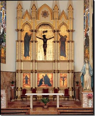 Altare maggiore (Chiesa delle Missioni, Sassari)