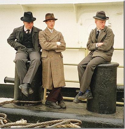 Odessa, sul set del film La leggenda del pianista sull'oceano, 1996 -