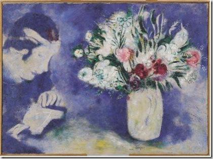 Marc Chagall, Bella à Mourillon, 1926 © by SIAE 2009