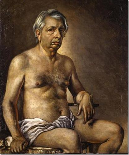 Autoritratto nudo, 1945, Roma Galleria Nazionale d'Arte Moderna