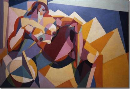Enrico Prampolini, Geometria della voluttà, 1922-1923