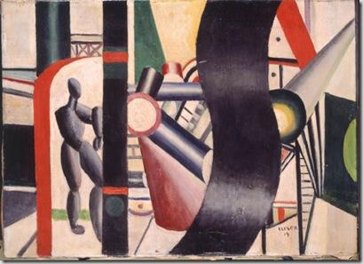 Fernand Léger, Le chauffeur nègre, 1919