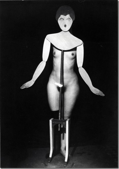 Man Ray Etiquette -Coat Stand, 1919-1920