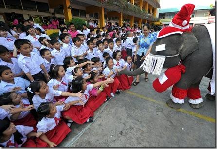 THAILAND-RELIGION-CHRISTMAS