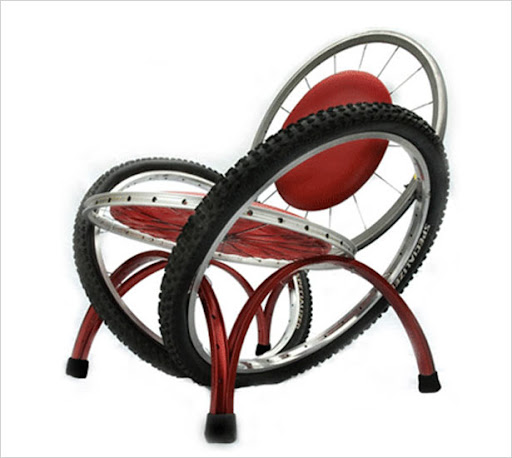 More Interesting Chairs Here. Via Ciclism.ro.