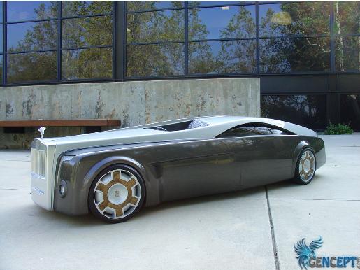 GenCept.com | Rolls Royce Apparition Concept. Rolls Royce Apparition Concept