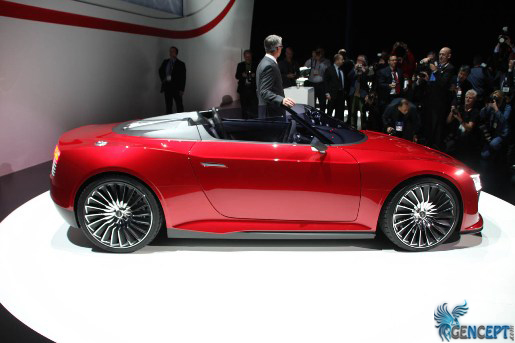 GenCept.com | CES 2011: Audi eTron Spyder