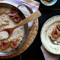 Brown Sugar Roasted Fig Oatmeal