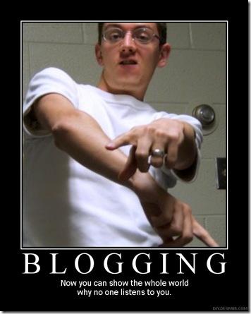 blogging funny