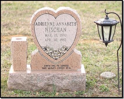 adriennes tombstone