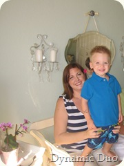 gus with mommy 2010