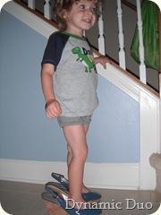 he's got his momma's legs! (2)