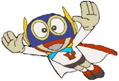 O Super Dínamo tinha um robô cópia para substituí-lo enquando salvava o mundo.